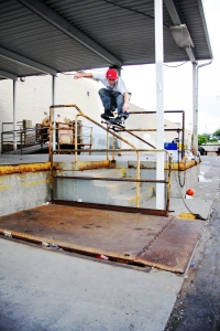 Huge Ollie Over DI Rail; Kearns