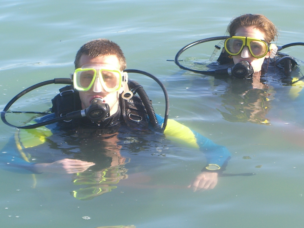 Dear diary scuba with the dive shop open water test for The dive shop
